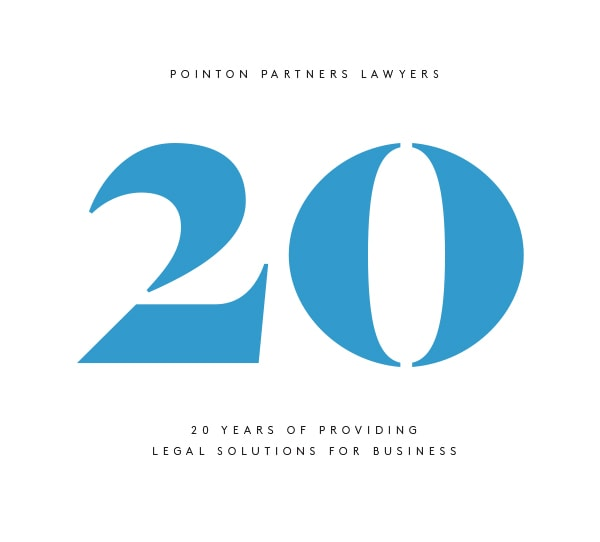 Pointon Partners 20 year milestone